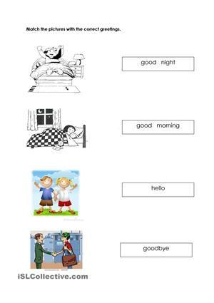this  cworksheet especially created for kindergartenchildrens - ESL worksheets