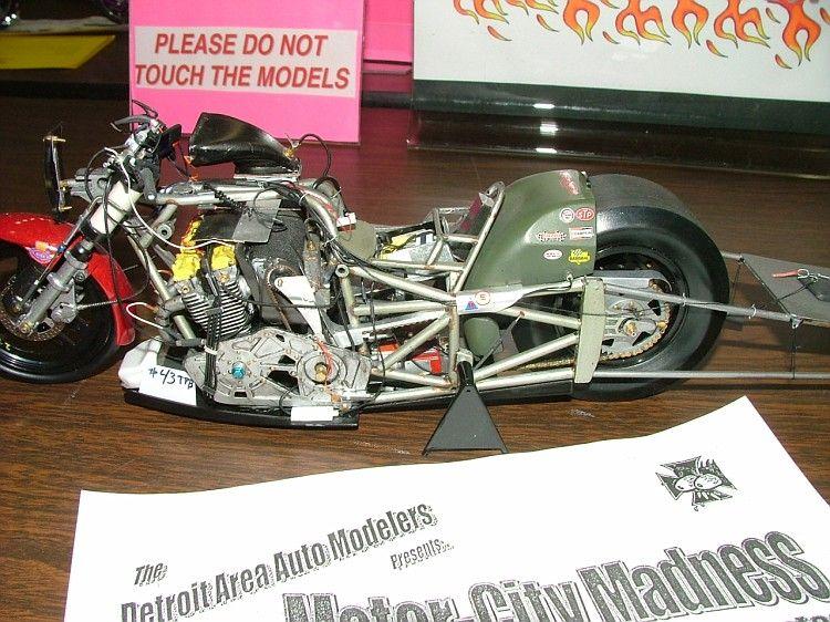 Drag Bike Plastic Model Cars Drag Bike Motorcycle Model