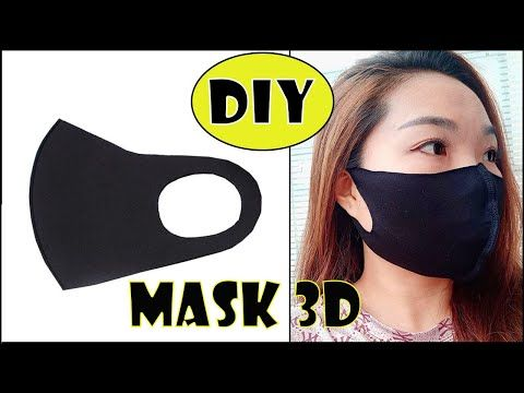 Photo of DIY 3D FACE MASK | How to make a 3D mask | HOW TO EXPORT SUPER SUPER 3D PAGE