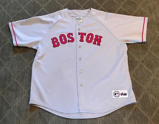 Vintage MLB 90s Boston Red Sox Majestic Mens XL Away Jersey Rare Great  Condition (eBay Link) 0f70f833c00