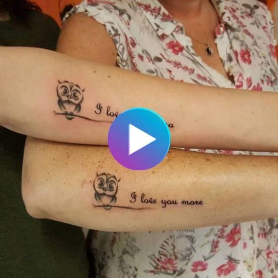 Best tattoo for mother daughter in 2020 | Tattoos for daughters, Mothe