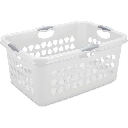 Laundry Bags At Walmart Fascinating Sterilite 2 Bushel Ultra Laundry Basket Multiple Colors Available