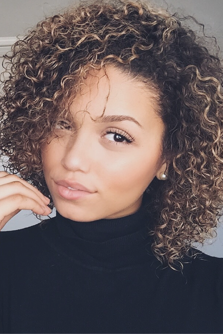 Wash and Go Routine for 3B/3C Curly Hair. How to Style