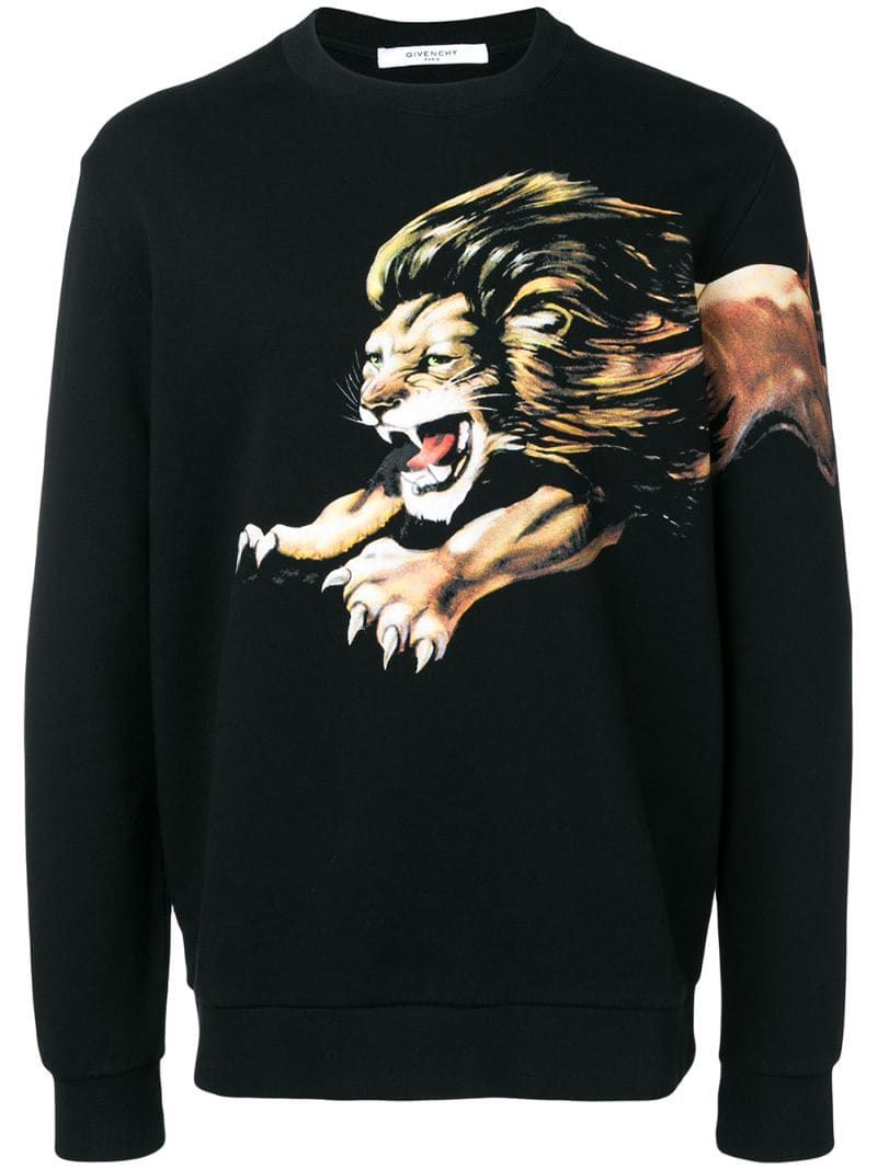 Givenchy Leo sweatshirt - Black