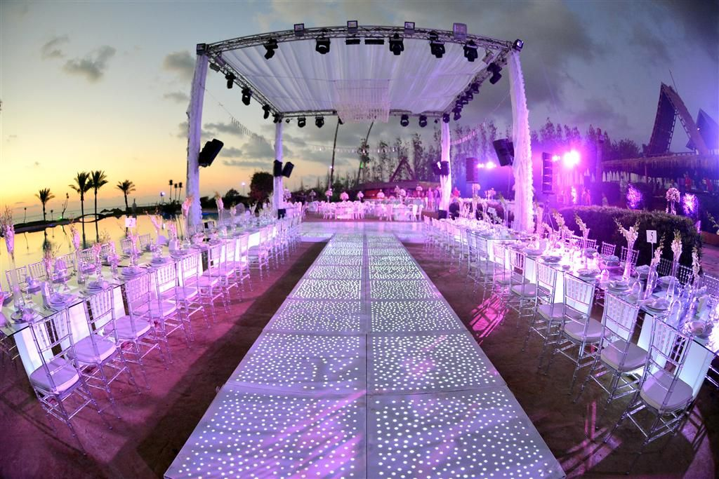 Outdoor Wedding Venue Affordable Packages At Janna Sur Mer Lebanon