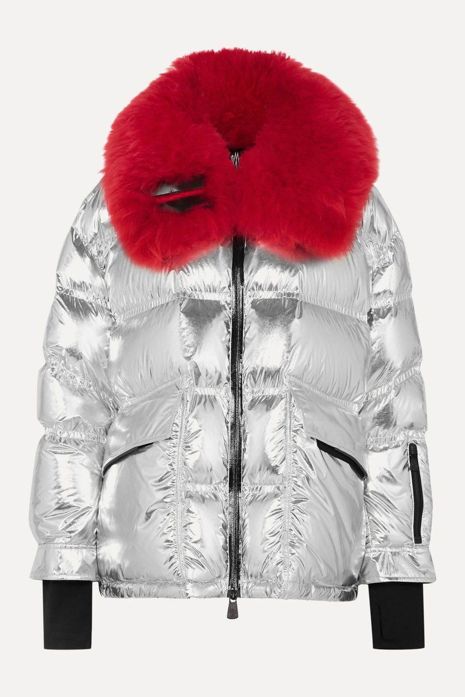 Moncler Grenoble's quilted jacket will ensure that you