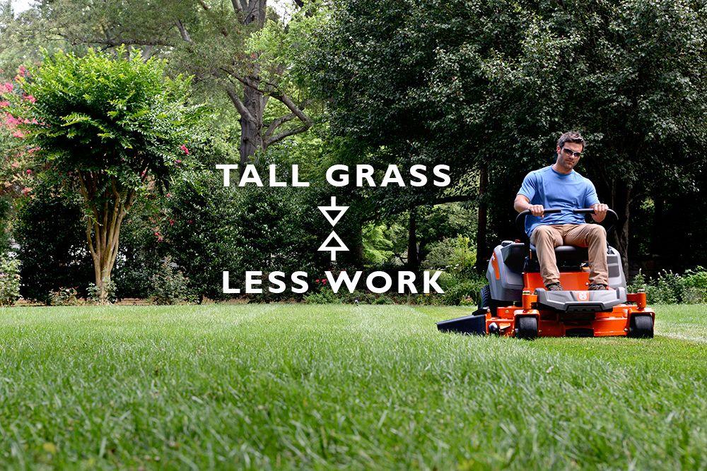 Tall Grass Less Work Husqvarna Z200 Series Residential Zero Turn Mowers Best Zero Turn Mower Zero Turn Mowers Commercial Zero Turn Mowers
