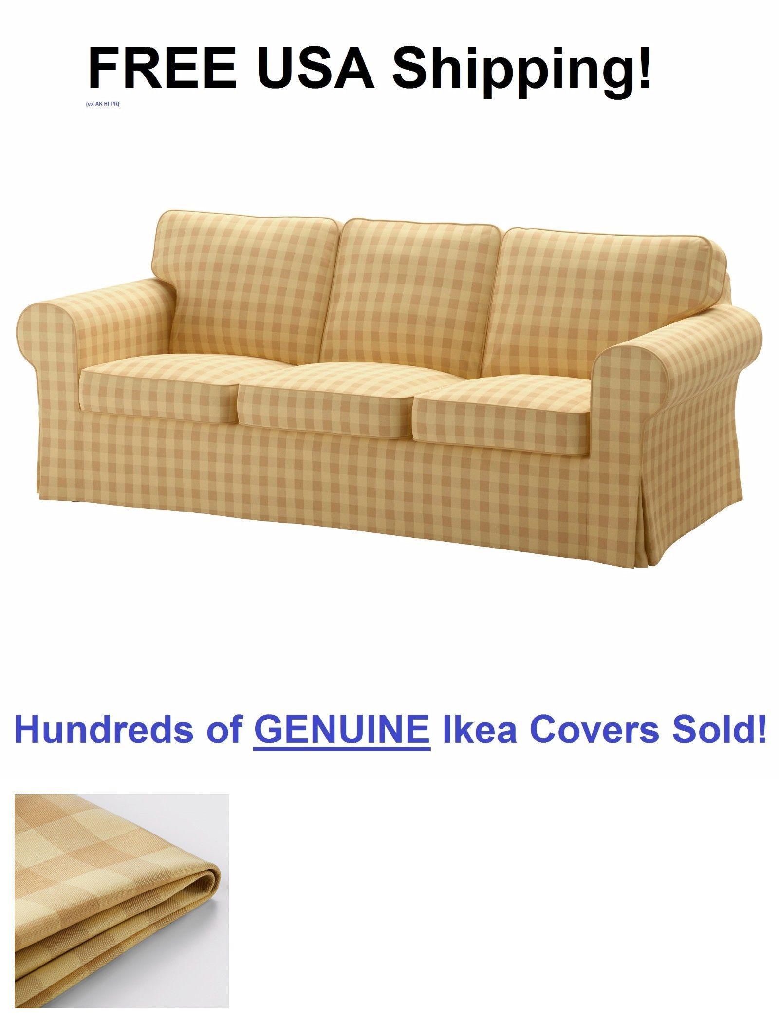 Slipcovers Ikea Ektorp Three 3 Seat Sofa Slipcover Cover