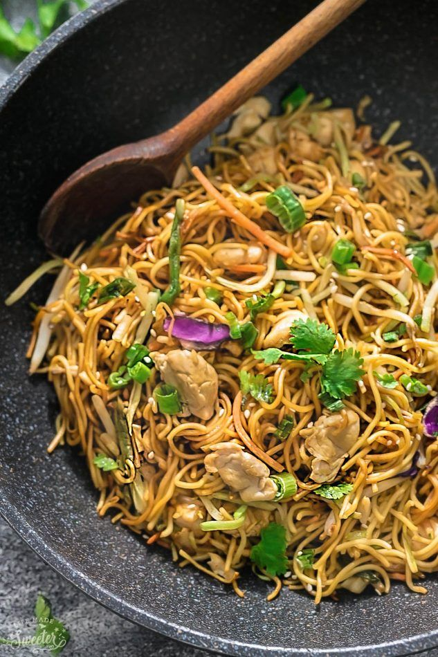 Chicken chow mein is the perfect easy weeknight meal best of all food chicken chow mein is the perfect easy forumfinder Images