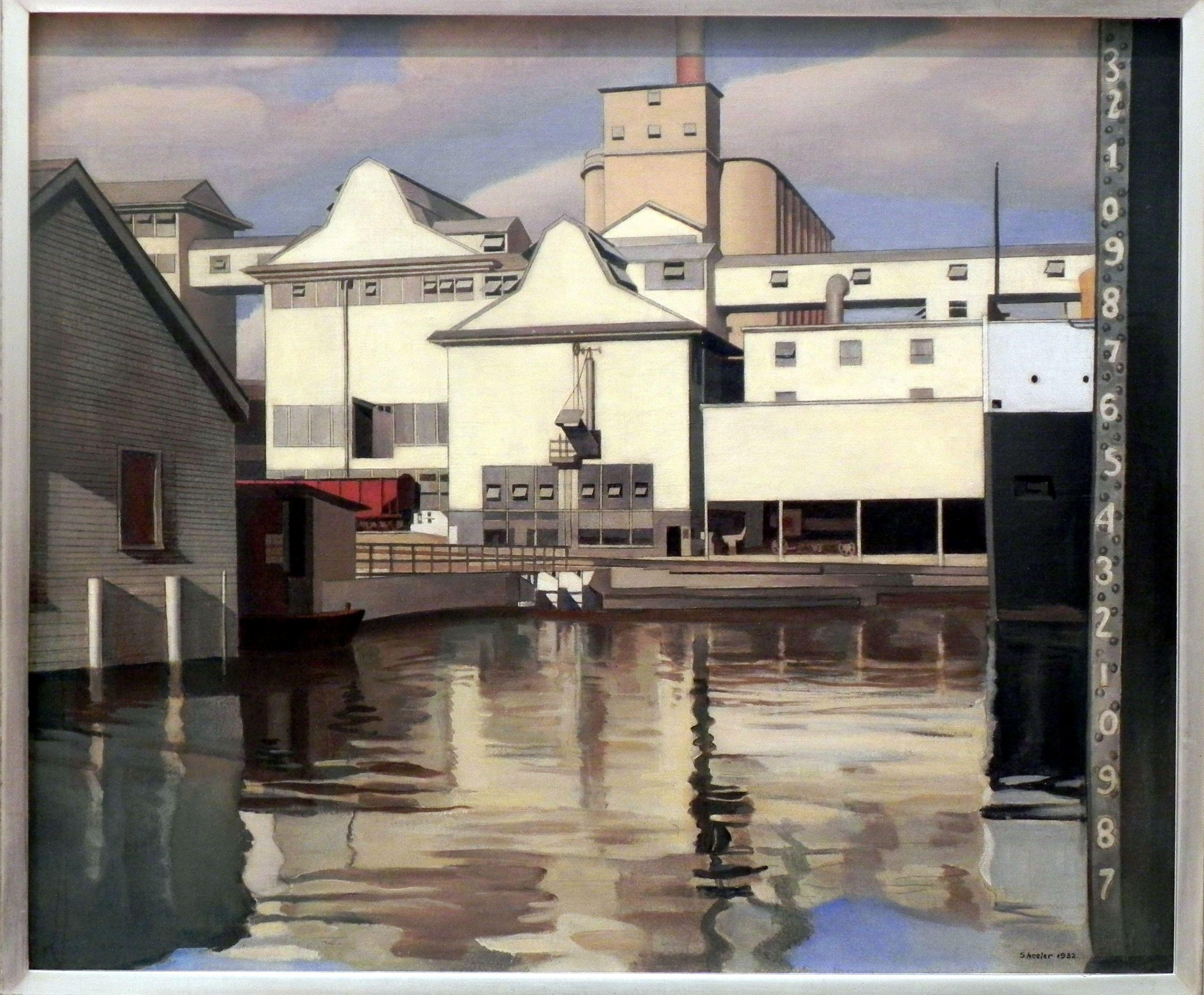 Charles Sheeler. River Rouge Plant. 1932. Based