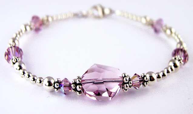 Swarovski Crystal Bracelets Recovery Spiritual Jewelry 12 Step Gifts Chakra Inspirational