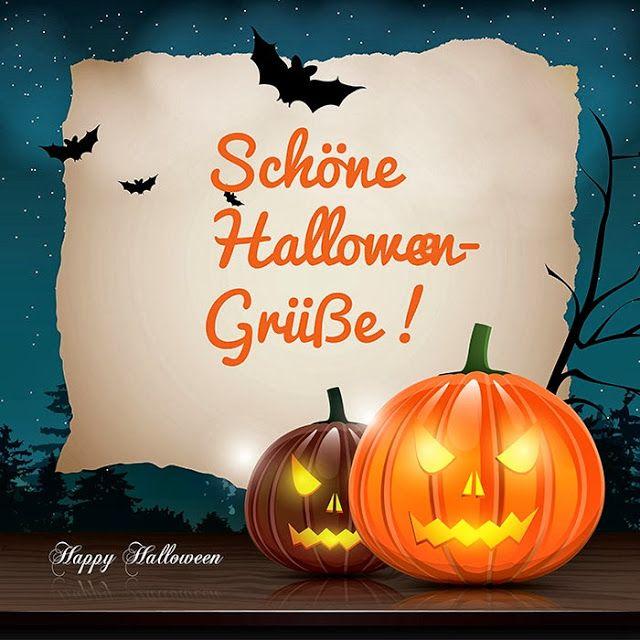 Schöne Halloweengrüsse