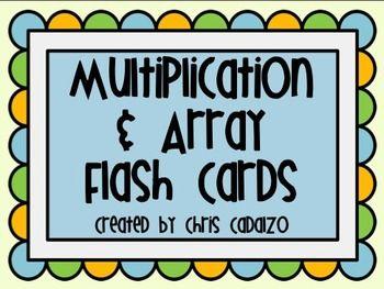printable multiplication flash cards arrays cc math. Black Bedroom Furniture Sets. Home Design Ideas
