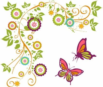 butterfly and branch photoshop pinterest butterfly vector rh pinterest com Flower Photoshop Patterns Flower Photoshop Brushes