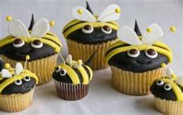 Bumble bee cupcakes from my shop perfectlygooddonut.etsy.com