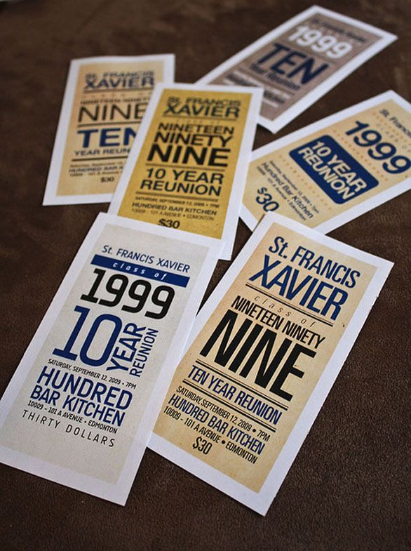 25 awesome examples of concert ticket designs print design