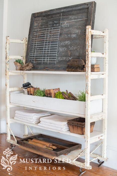 Shoe Cart Reproduction Vintage Shelving Diy Furniture Shelves