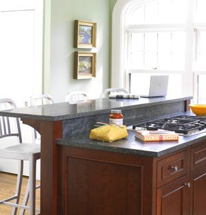 Add A Two Tier Island In Your Kitchen Kitchen Island Bar Kitchen Island With Stove Kitchen Island Design