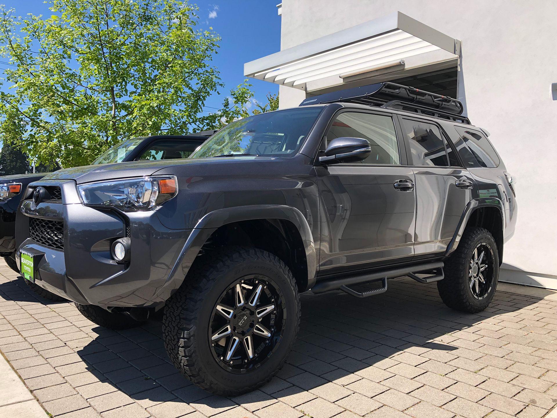 2019 Toyota 4runner With 20 Inch Black Rhino Rush Wheels And 275 60 20 Bfg Tires 2019 Cvdauto Toyota 4runner Toyota 4runner Sr5 Toyota 4runner 4runner