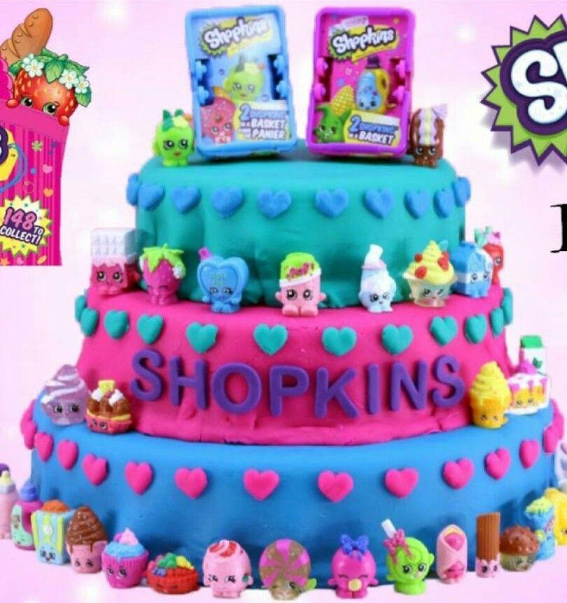 Play Doh Shopkins Reveal Cake   Shopkins birthday cake ...