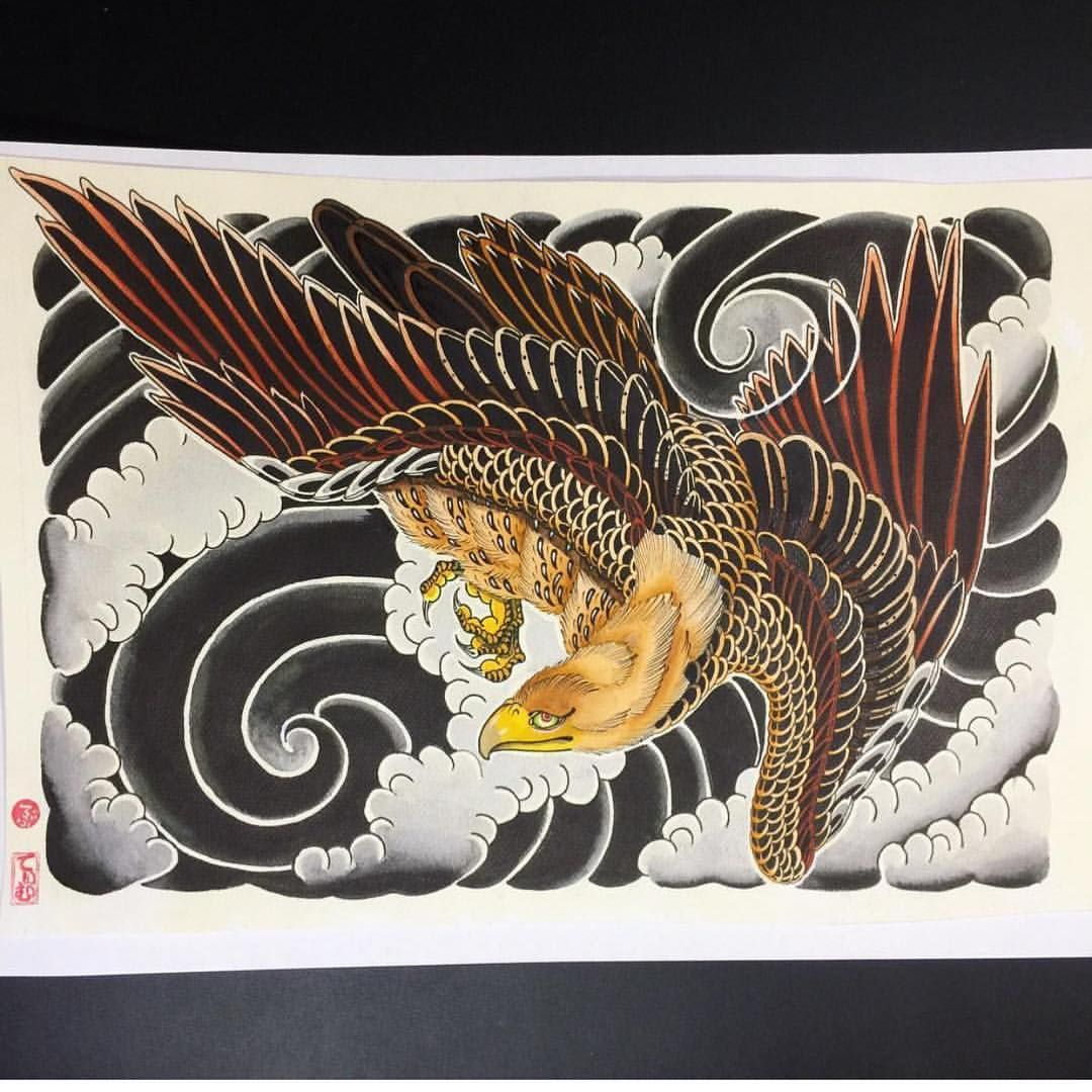 "Strictly Tattoo Studio trên Instagram ""Hawk painting by"