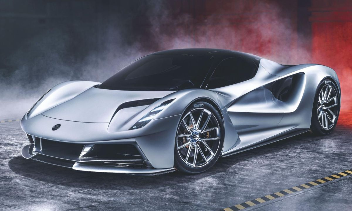 The Lotus Evija Electric Hypercar Is Powered By Four Electric Motors That Generate A Combined 2 000ps 1 973 Horsepower Which Sh Super Cars Electric Cars Car