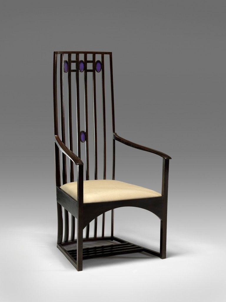 Armchair For Hous Hill Catherine Cranston S Residence Glasgow Scotland Collections Furniture Design Mackintosh Furniture Furniture Design Modern