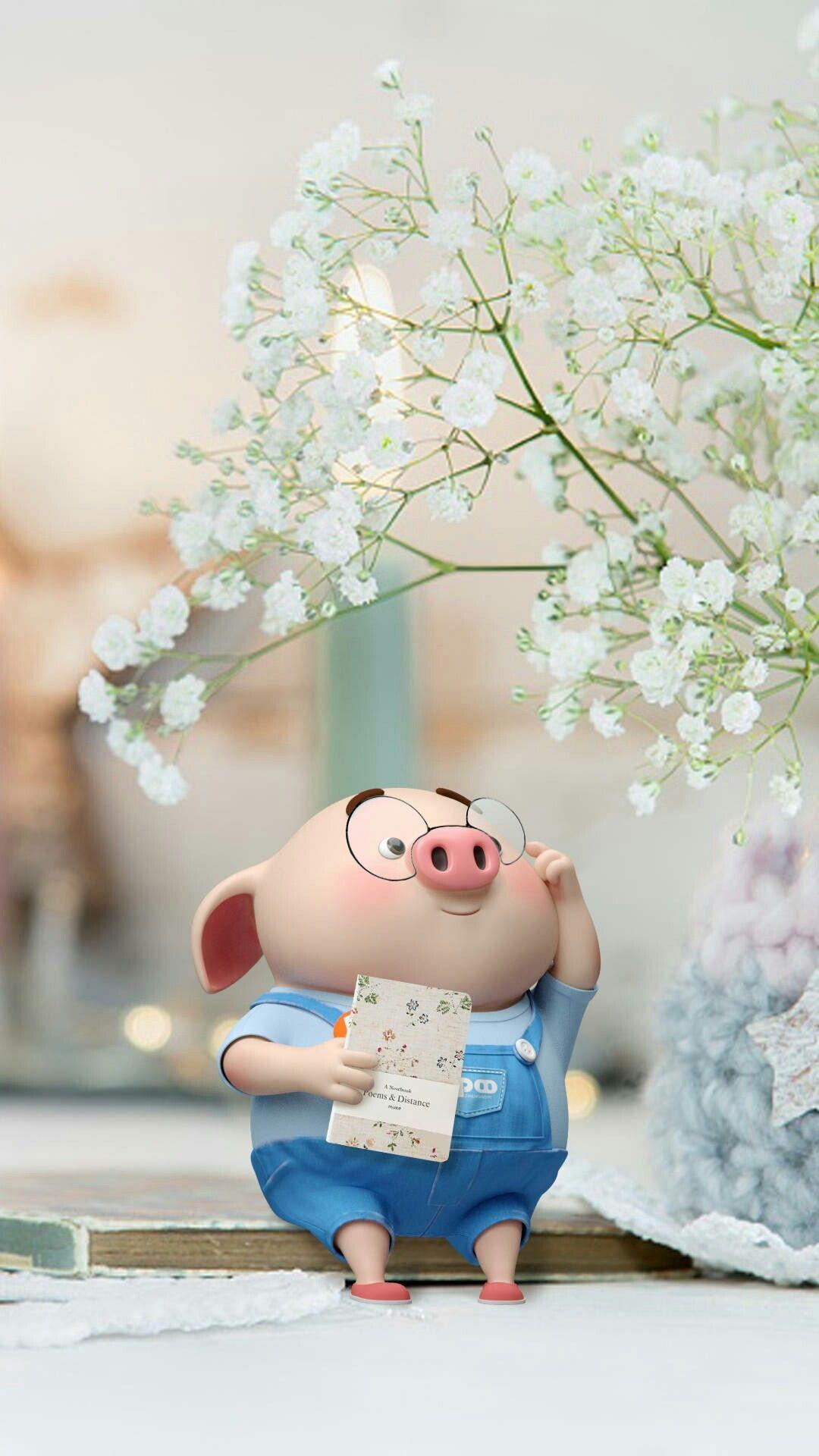 Ghim của Yin Yee trên Anime Lợn con, Hình nền, Minh họa