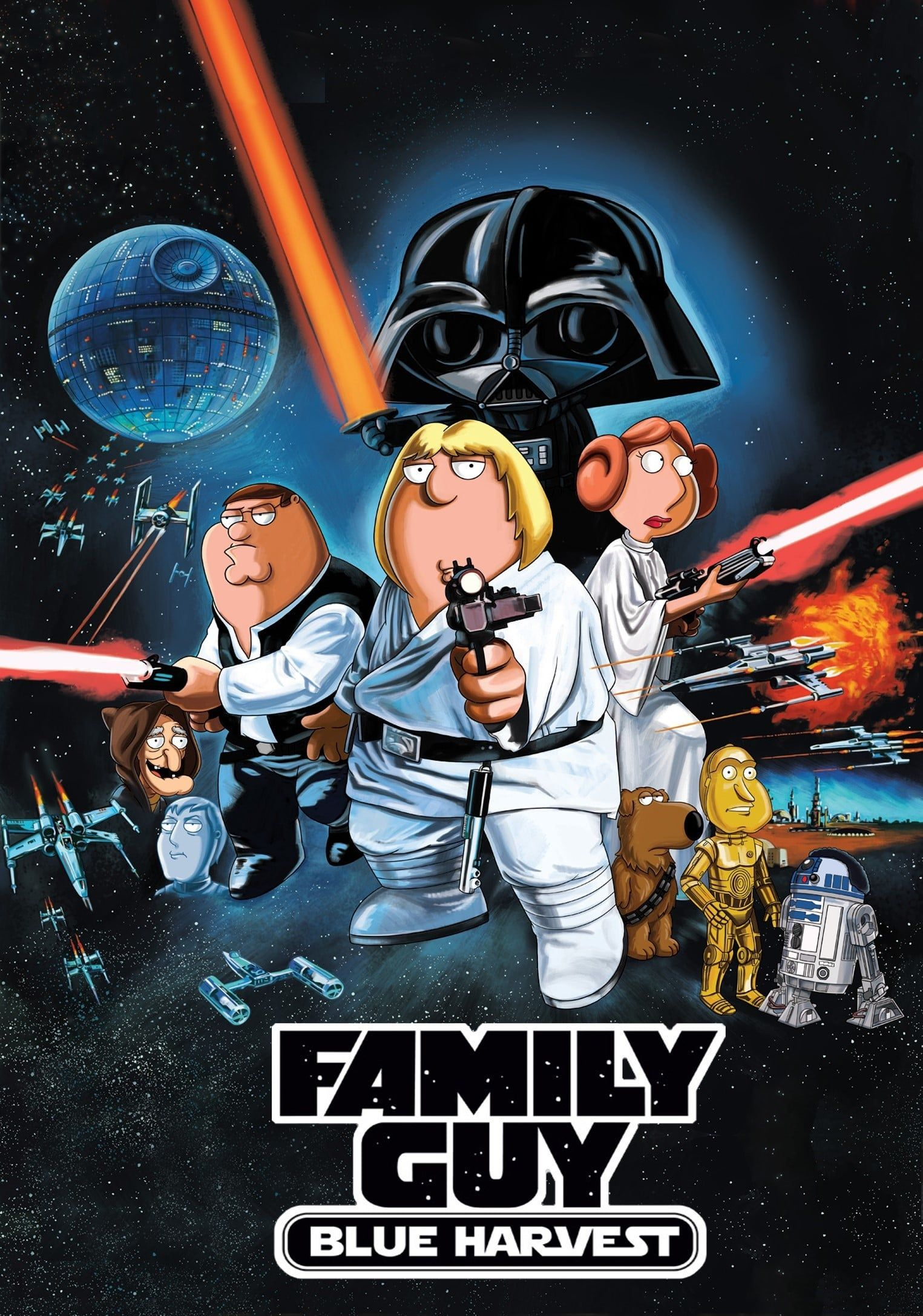 Pin by La Vista Johnowh on Family Guy Star wars poster