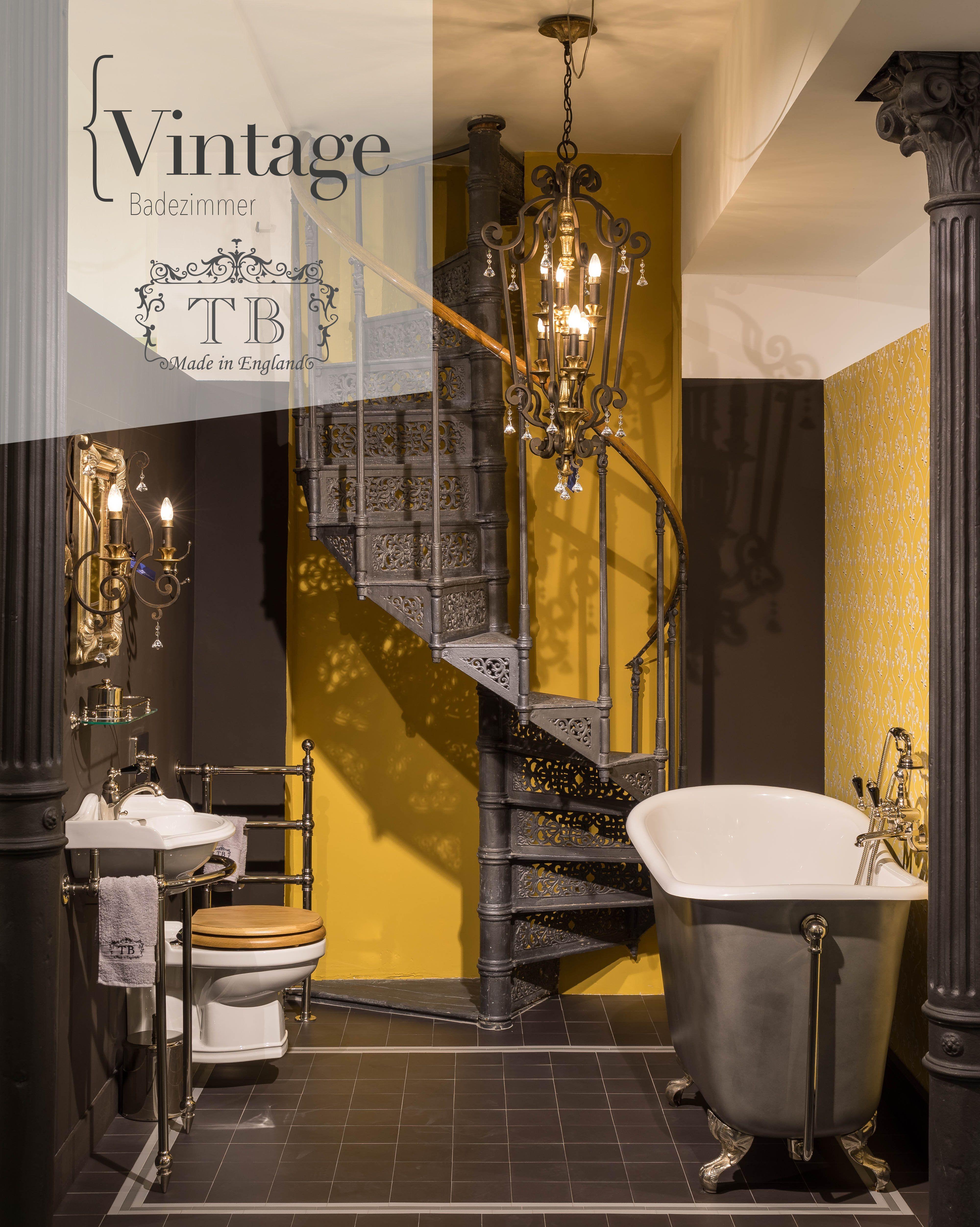 Vintage Badezimmer In 2020 Vintage Badezimmer Traditionelle Bader Badezimmer