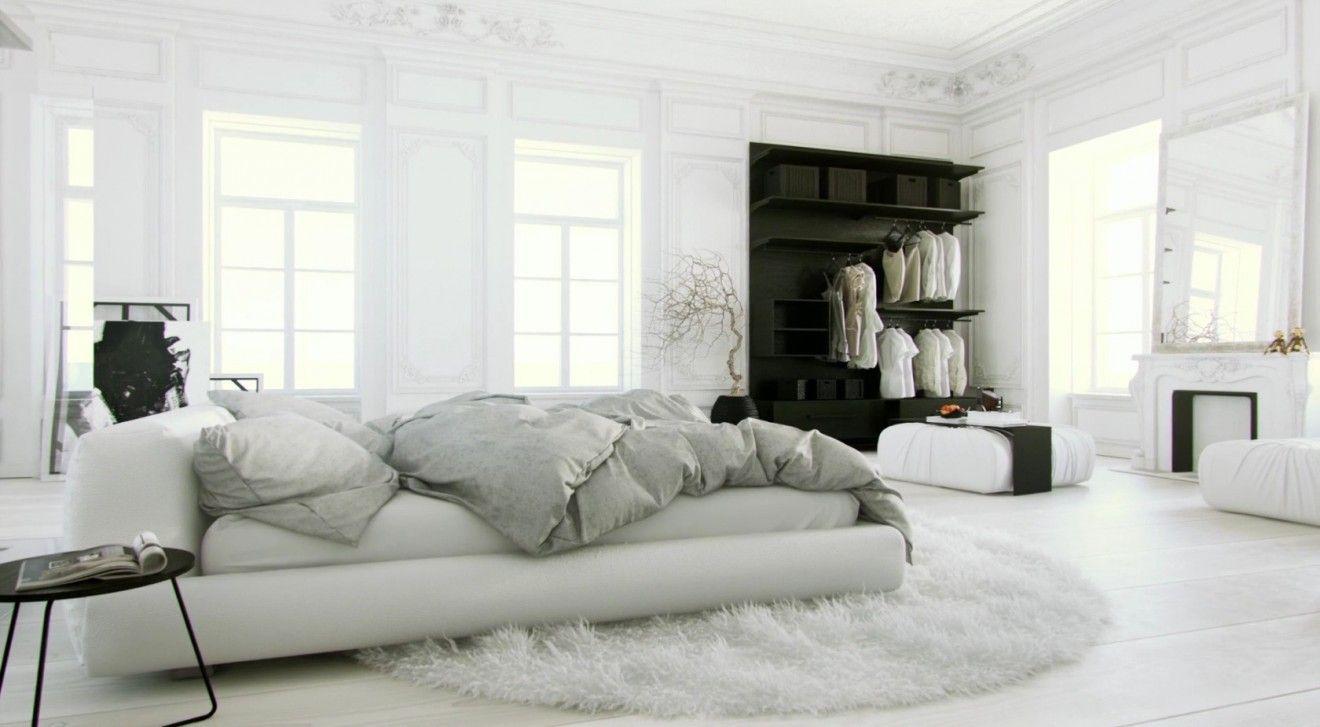 überbau Schlafzimmer ~ Schlafzimmer einrichtungsideen teppichboden holzdecke