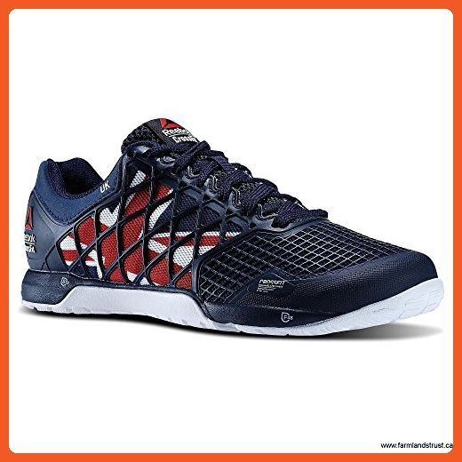5d88dcb34a9 Women s Reebok Crossfit Nano 4.0 UK Flagpax Shoes Navy Excellent  Red White Black M48465 Size 10 - Athletic shoes for women ( Amazon  Partner-Link)