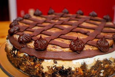 cookie dough fudge cheesecake..omg once a year maybe lol