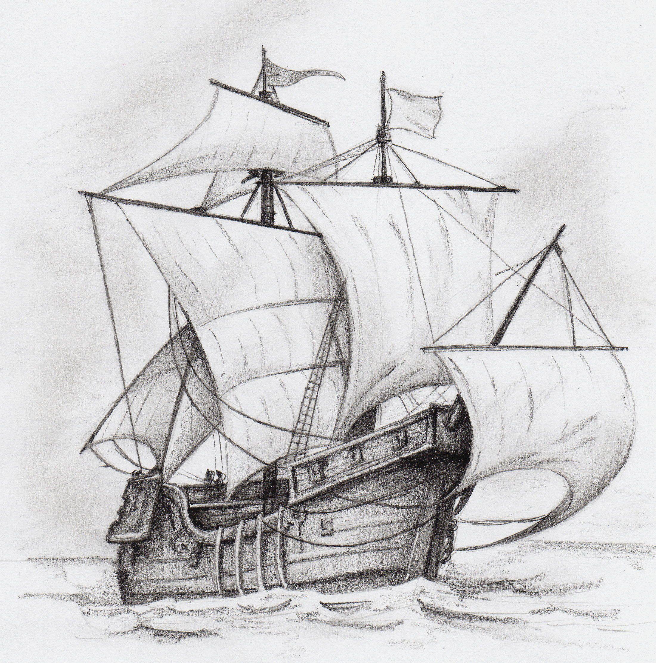 Possible Tattoo Inspiration Favorite So Far Barcos Para Dibujar Dibujo De Barco Tatuajes De Barcos