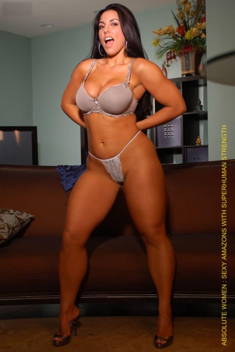 Andressa Soares Naked curvy curves