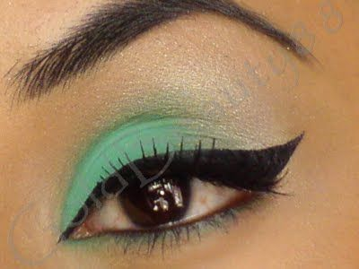 Mint and Silver #Makeup <3