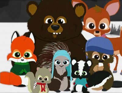 South Park Woodland Critter Christmas.South Park Woodland Critters Xmas Etsy Ideas South Park