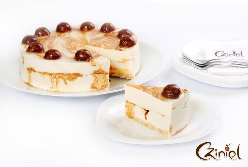 cziniel esküvői torta Karamellás sajt torta   Cziniel Cukrászda | Torták | Pinterest cziniel esküvői torta