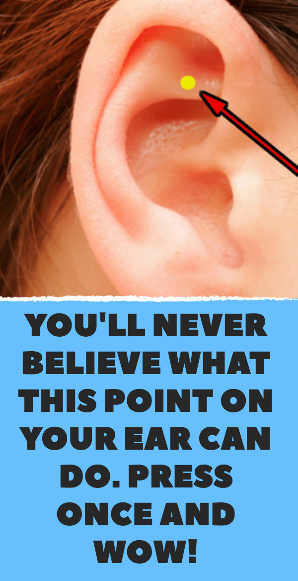 You'll Never Belive What This Point On Your Ear Ca