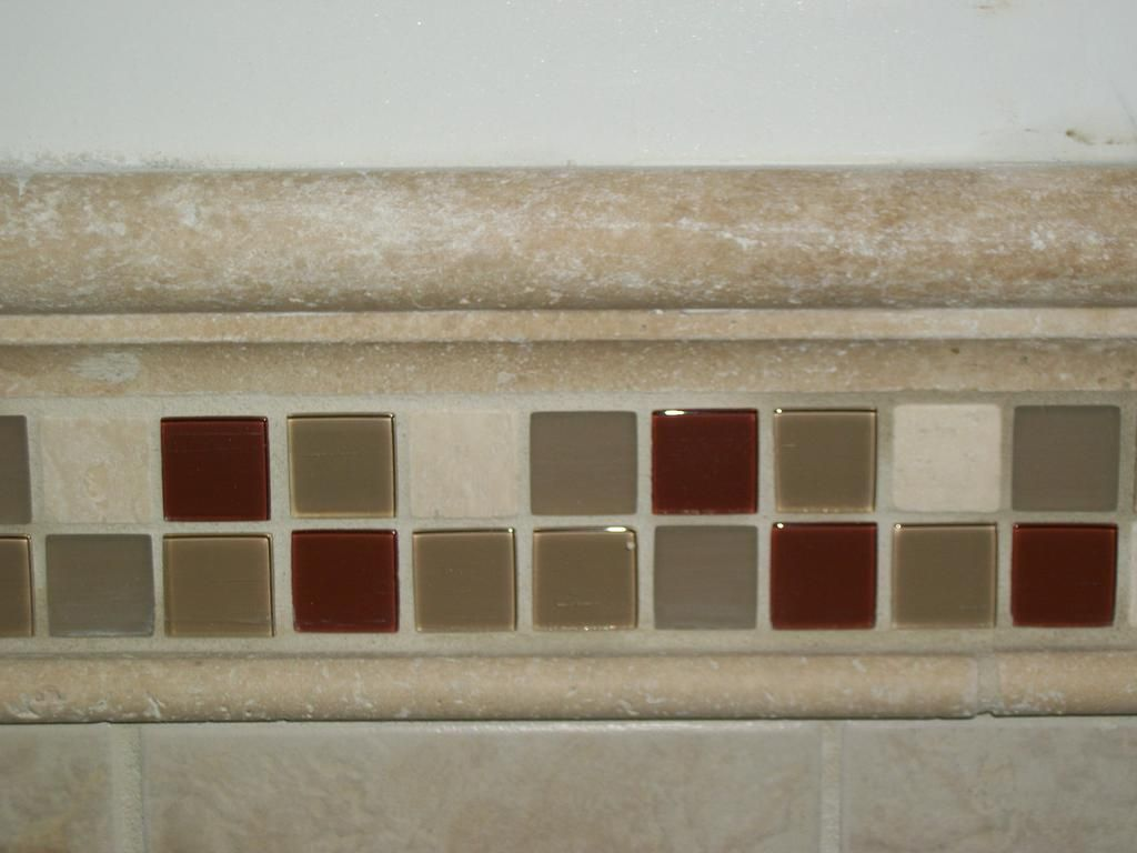 Chair Rail Trim Ideas Part - 29: Custom Chair Rail Bathroom Tile Designs And Ideas By Complete Home  Remodeling And Repair Company Gibbstown 08027