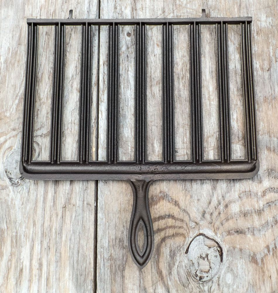 Antique Cast Iron Broiler Grill Gate Mark 1800 S Cast Iron Cookware Antique Cast Iron Cast Iron