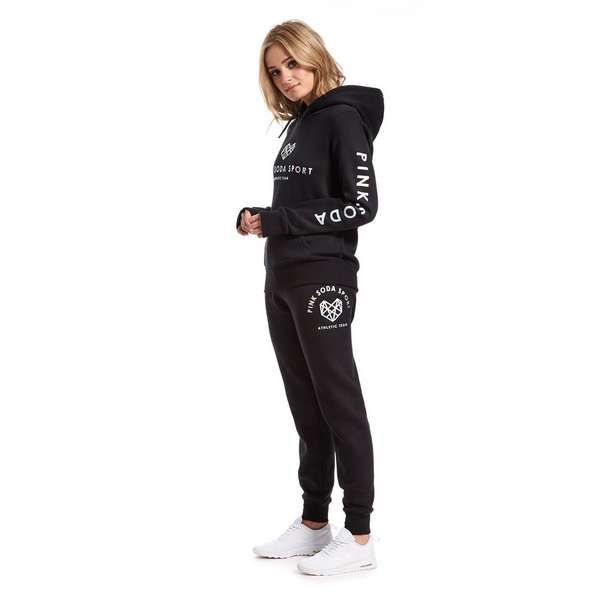 pink soda sport logo hoody jd sports sport outfits cool outfits active wear for women pinterest