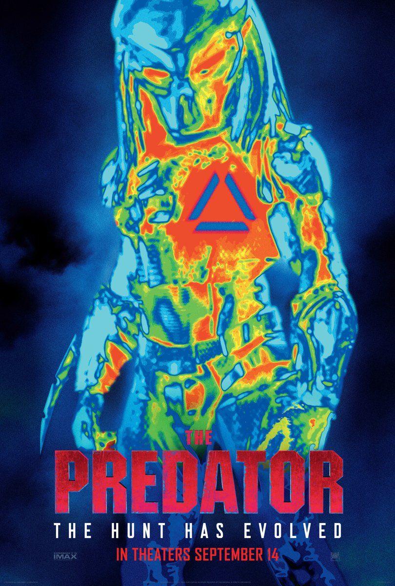 New Poster For The Predator Plus Shane Black Talks Fear In Darkness O Predador Filme Predador Assistir Filmes Gratis Dublado