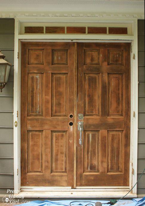 How To Strip Paint Off A Door Pretty Handy