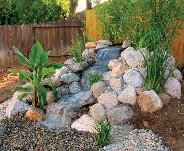 Pond-Less Waterfalls \u2026 Pinteres\u2026 - Cascadas En Jardines