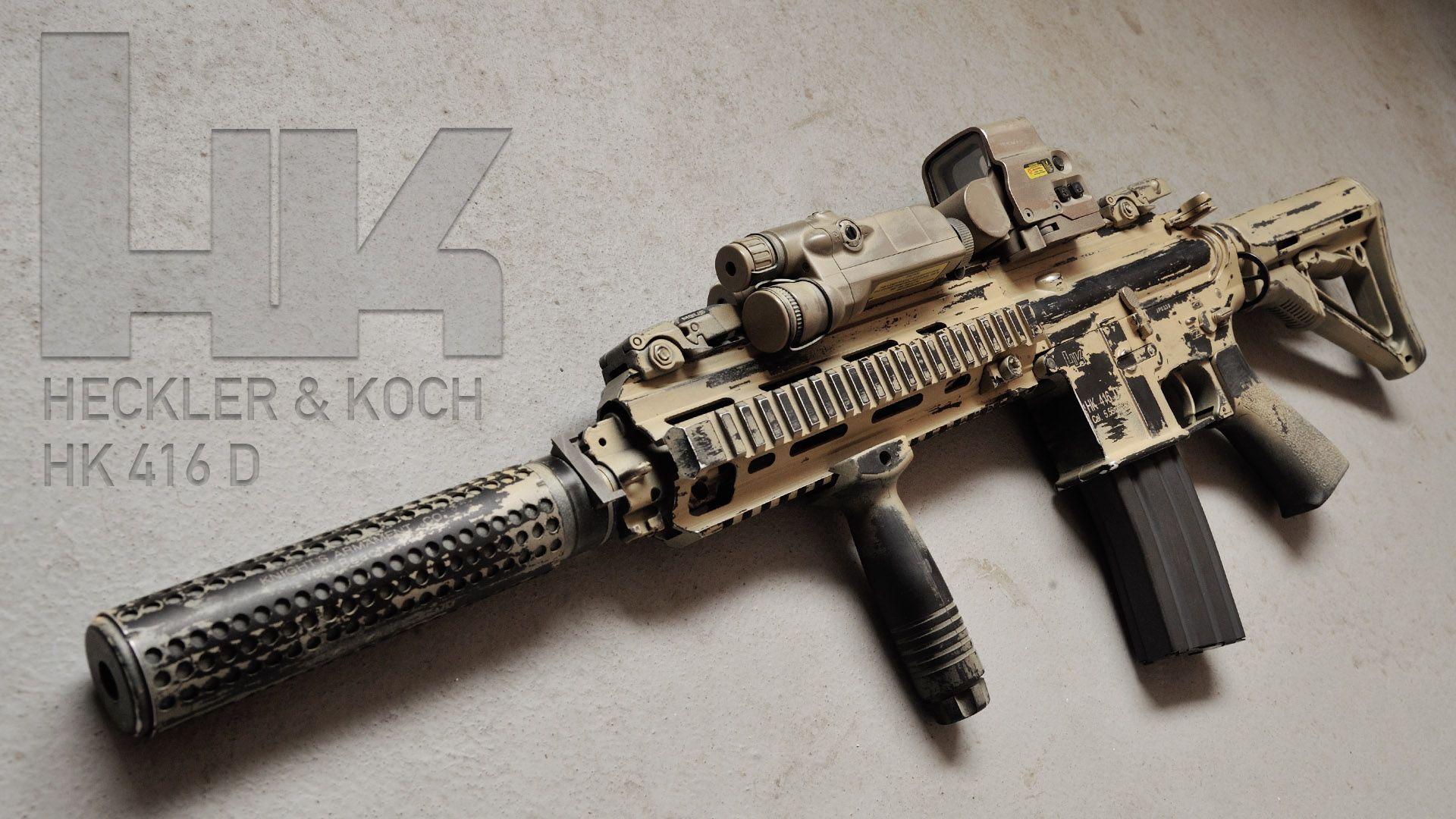 Hk416 Hk416d | guns | Pinterest | Guns, Weapons and Firearms