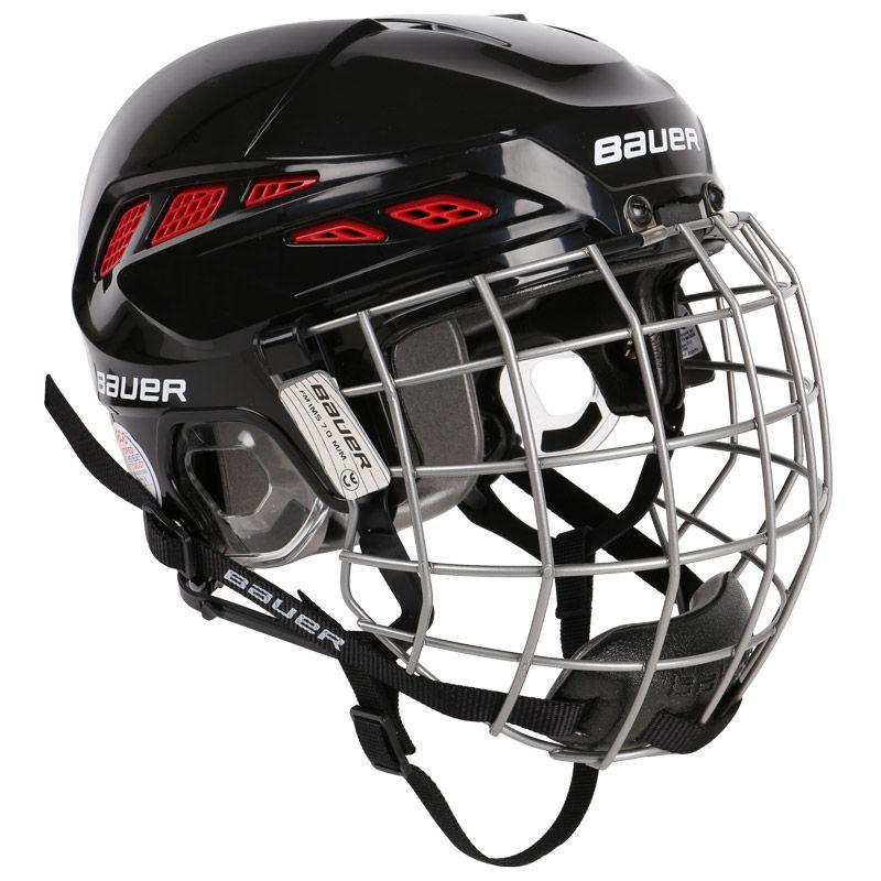 Bauer Ims 7 0 Custom Hockey Helmet W Face Cage Hockey Helmet Helmet Custom Helmets