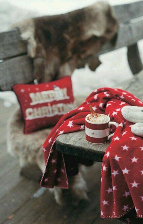 Pin By Takoa Duff On Christmas Winter Wonderland Cozy Christmas Christmas Mood Red Christmas