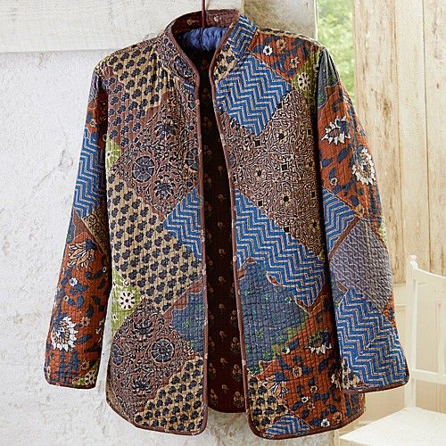 Large Image Quilted Clothes Quilted Jacket Jacket Pattern