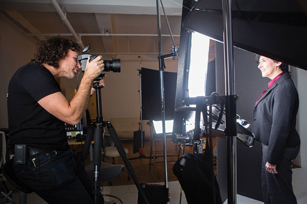 Tips From A Pro Peter Hurley On High End Headshot Photography